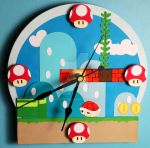Mario Clock by DCatz