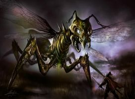 Necrosis Bug by PaperPillow