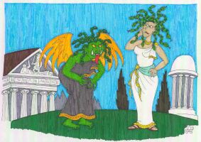 Two Faces of the Gorgon by EmperorNortonII