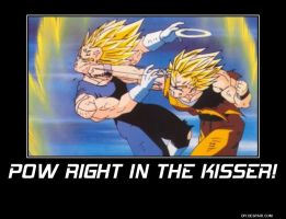 pow right in the kisser by Gollum123