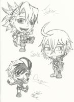 Book of Circus Chibis! by Maygirl96