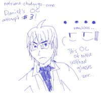 Ateempt to draw my OC without glasses by KuroNekoNatsume