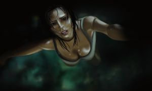 Croft Falling by Kosumonauto