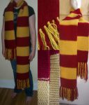 Harry Potter Scarf by Scribblekin