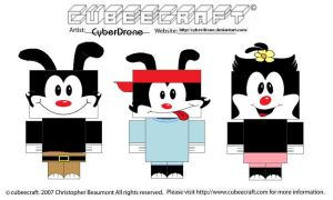 Cubeecraft - Animaniacs by CyberDrone