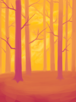 oh here have some trees by Zaphy1415926