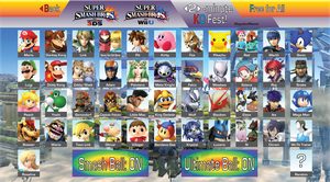 Super Smash Bros. 4: Ultimate Roster (Pre-Direct) by MagnetarMaster