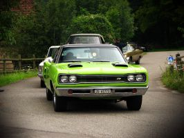 green muscle car by AmericanMuscle