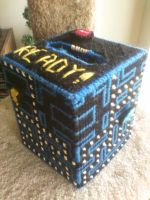 [Done] Pacman Tissue Box 1 by AprilMoonshine