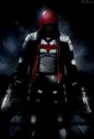 Custom Arkham Redhood Poster by HZ-Designs