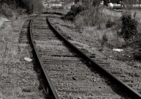 Curved Rails by Jordanart4peace