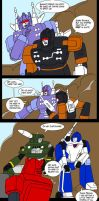 Cassetticons to the rescue by Comics-in-Disguise