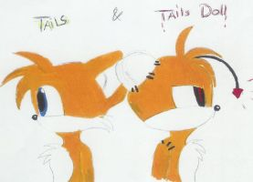 tails and tails doll by bumblebeeluver333