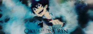 Okumura Rin Smudge Failed.. by ChenJing35