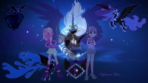 The Three Sisters of the Evil - The Dazzlemoons by DaisyTheBrony123