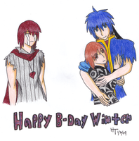 Happy Birthday WinterXuni by IkeFanatics