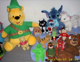 Disney Plush Collection 2012 *Update* 4 by kratosisy