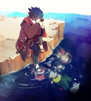 Naruto-7 class now and before by yamielkk