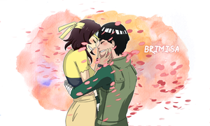Lee and Kemmei by Brimisa