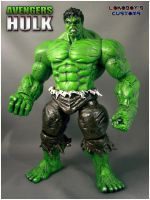 Movie Avengers Hulk Portrait - Custom Figure by Lokoboys