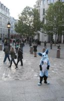 Sky: Blue Fox in London by CuriousCreatures