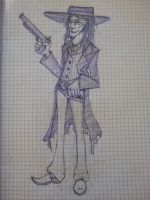 [ the lone ranger ] butch cavendish by AlexMercer-Sara123