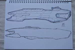 Concept COM Missile Cruiser by Galen82