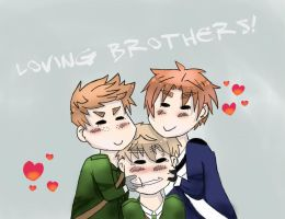 Loving Brothers! by amatsuni