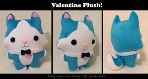 Plush - Valentine the Husky by Quaylak