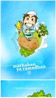 Marhaban ya Ramadhan by yusufcolors