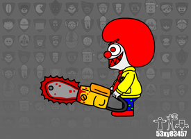 Chainsaw The Clown (FD) by 53xy83457