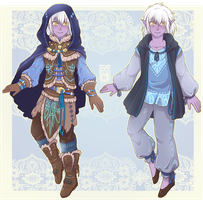 :Comm: outfits for Kethan by BlackMayo