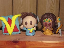 Venturian Fan-made Clay Figurines! by JordanVenturian