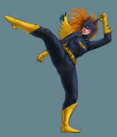 Batgirl kicks hard by ale-xander