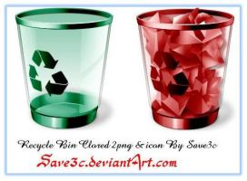 Recycle Bin Colored by save3c