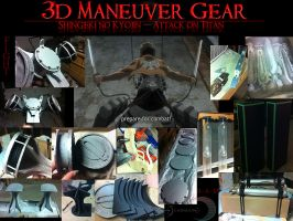 My 3D Maneuver Gear Process by Ichimuune