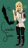 Cannibal Jess by MajoraDrowned