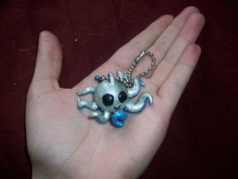 Octopus Keychain by blackiceheart
