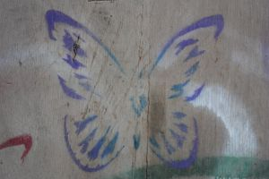 Butterfly Stencil by the3rdplanet