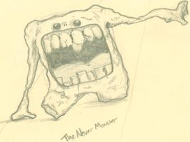 The Never Monster -rough- by Jake-Moore