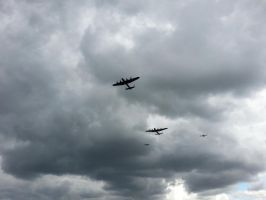 Battle of Britain Memorial Flight by wintersmagicstock