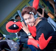 You Still Can't Join Us, Dead Pool. by KimMazyck