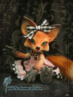 Foxy Lady... er... fox by TheMushroomPeddler