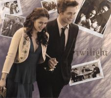 Bella Edward Wallpaper by tiny-crimson-cherry