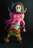Aye Captains ! Octopus by 6Noodle9
