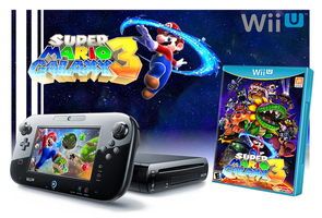 Wii U Super Mario Galaxy 3 Bundle by OrdinLegends