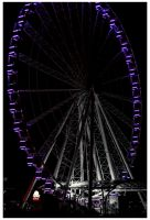 Wheel at Night 2 by Mackingster
