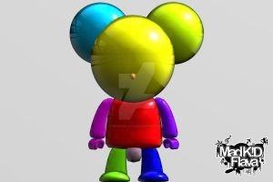 Disco Mouse by MadKIDFlava