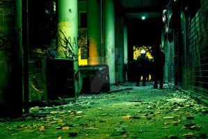 Athens. Images of terror by Nikolaou