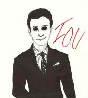Moriarty Sketch by NOTEBLUE13